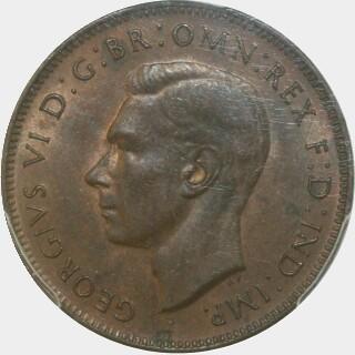 1942-I  Half Penny obverse