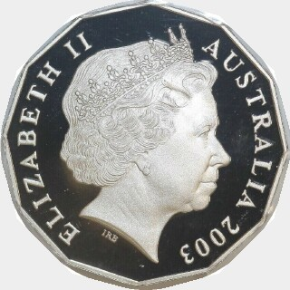 2003 Proof Fifty Cent obverse