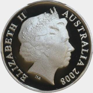 2008 Proof Five Cent obverse