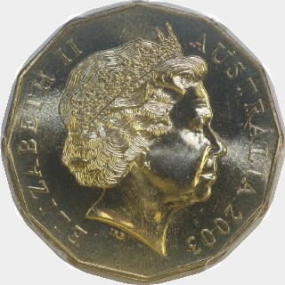 2003  Fifty Cent obverse