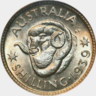 1939  Shilling reverse