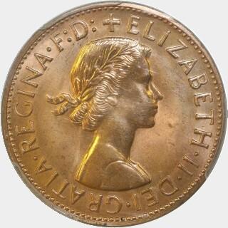 1962-Y Proof Penny obverse