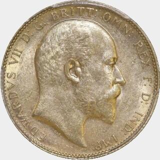1902-P  Full Sovereign obverse