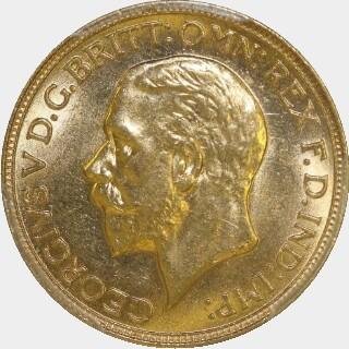 1931-M  Full Sovereign obverse
