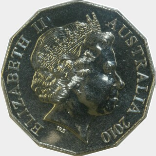 2010  Fifty Cent obverse