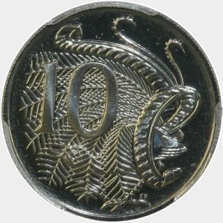2012  Ten Cent reverse