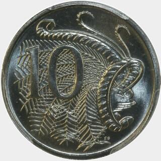 1993  Ten Cent reverse