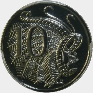 2008  Ten Cent reverse