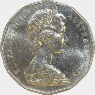 1973  Fifty Cent obverse