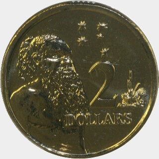 2013  Two Dollar reverse