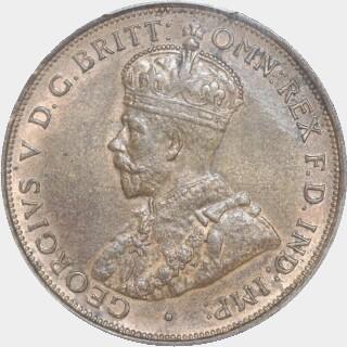 1912-H  Penny obverse