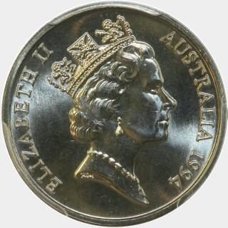 1994  Ten Cent obverse