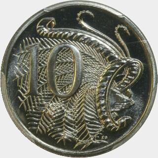 1995  Ten Cent reverse