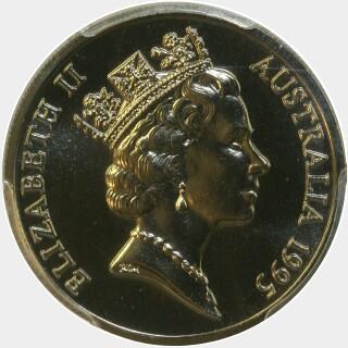1995  Ten Cent obverse