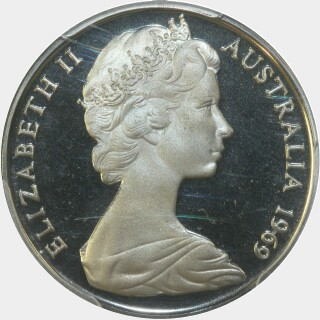 1969 Proof Ten Cent obverse