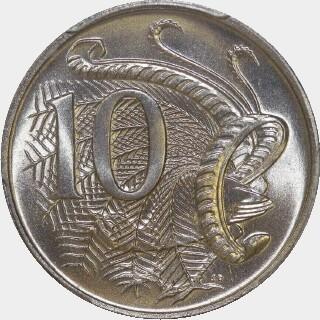 1967  Ten Cent reverse