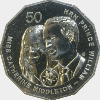 2011  Fifty Cent reverse