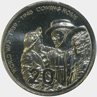 2005  Twenty Cent reverse