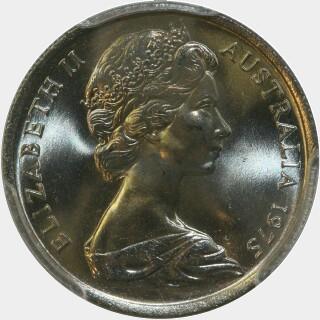 1975  Five Cent obverse