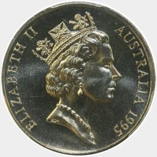 1995  Twenty Cent obverse