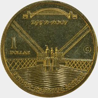 2007-C  One Dollar reverse
