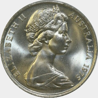 1975  Twenty Cent obverse