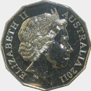 2011  Fifty Cent obverse