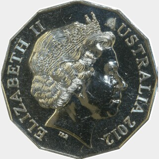 2012  Fifty Cent obverse