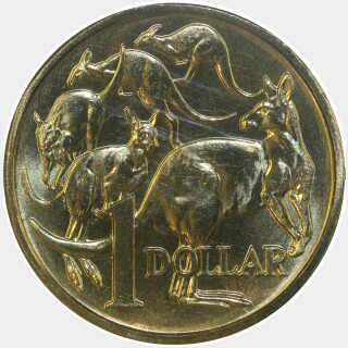 1994  One Dollar reverse