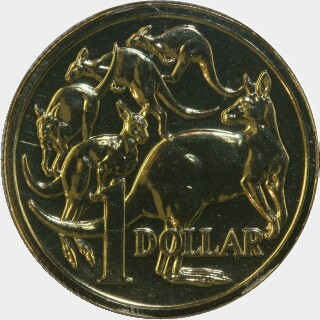 2009 Master Mintmark One Dollar reverse
