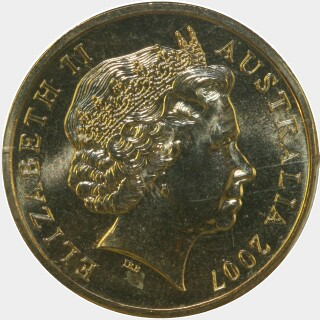 2007  One Dollar obverse