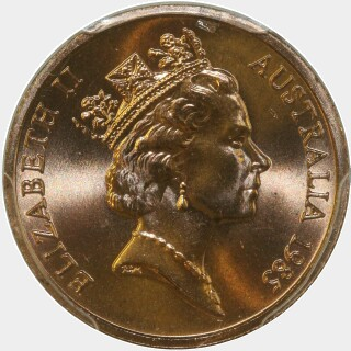 1985  One Cent obverse
