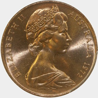 1972  Two Cent obverse