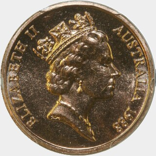 1988  One Cent obverse