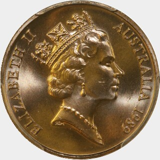 1989  Two Cent obverse