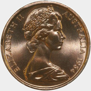 1984  One Cent obverse