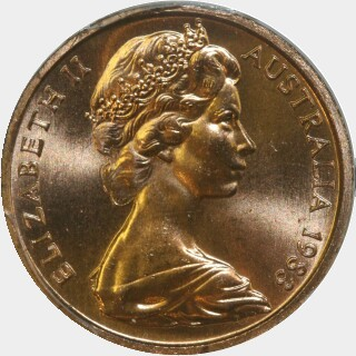 1983  One Cent obverse