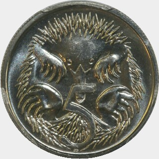 1993  Five Cent reverse