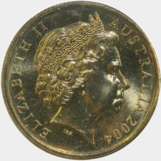2004-C  One Dollar obverse