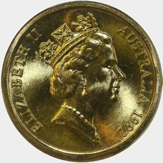 1992  Two Dollar obverse