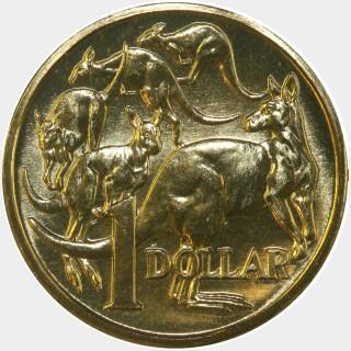1991  One Dollar reverse