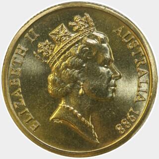 1988  One Dollar obverse