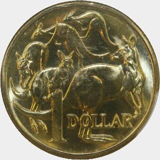 1984  One Dollar reverse