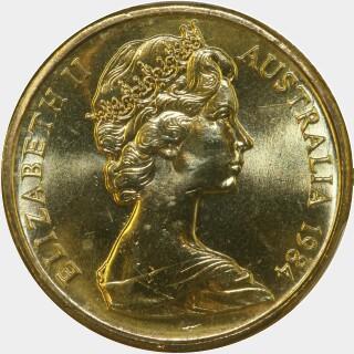 1984  One Dollar obverse