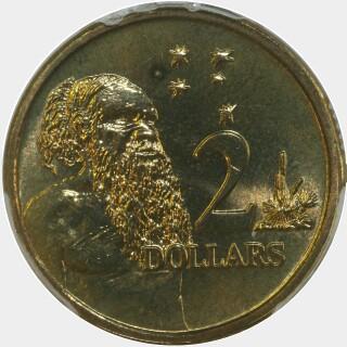 1997  Two Dollar reverse