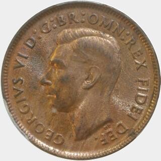 1951-Y  Half Penny obverse