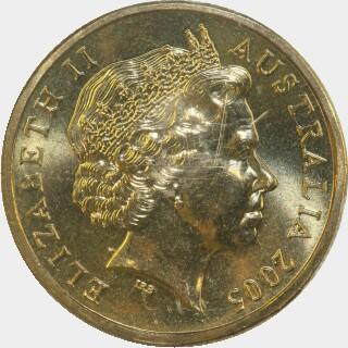 2005-G  One Dollar obverse