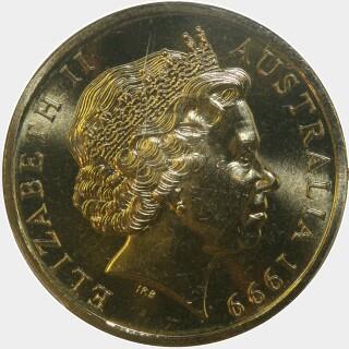 1999  One Dollar obverse