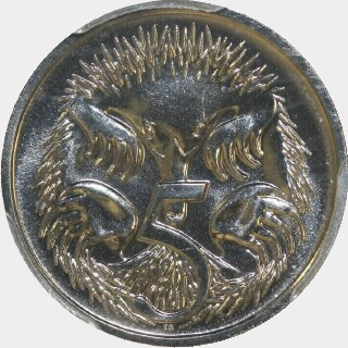 2005  Five Cent reverse