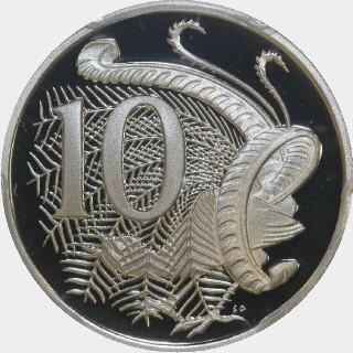 2003 Proof Ten Cent reverse